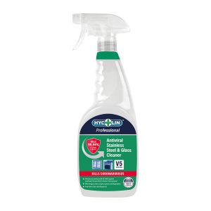 Antiviral Stainless Steel & Glass Cleaner