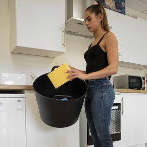 Flexi Tub Recycled Black